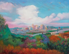 Queen City Evening, Oil Painting