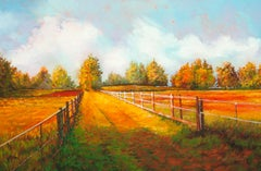 The Straight and Narrow, Oil Painting