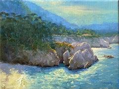 Gibson Beach, Oil Painting