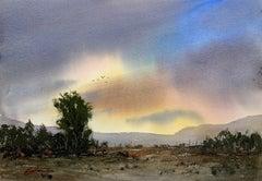Sunrise New Mexico, Original Painting