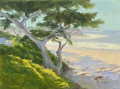 Beach Guardian, Oil Painting