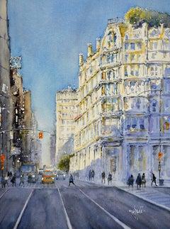 New York Corner, Original Painting