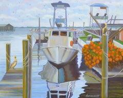 Quiet Bay, Oil Painting