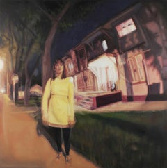 No Cars Go, Oil Painting