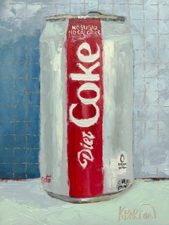 Super Refreshing, Oil Painting