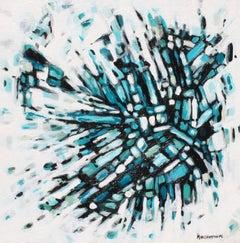 Fragmentation B, Abstract Painting