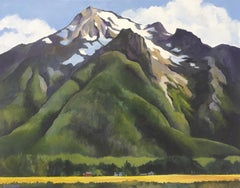 Whitehorse Mountain, Original Painting