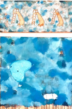 Come Play In My Water, Original Painting