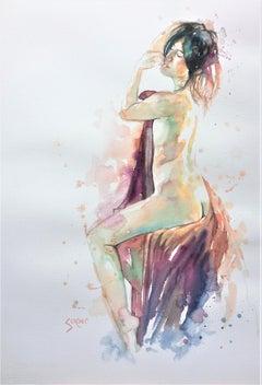 Magenta Dreams, Original Painting