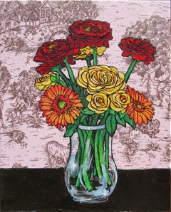 Mixed Bouquet 11, Original Painting
