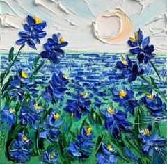 Bluebonnets Forever, Oil Painting