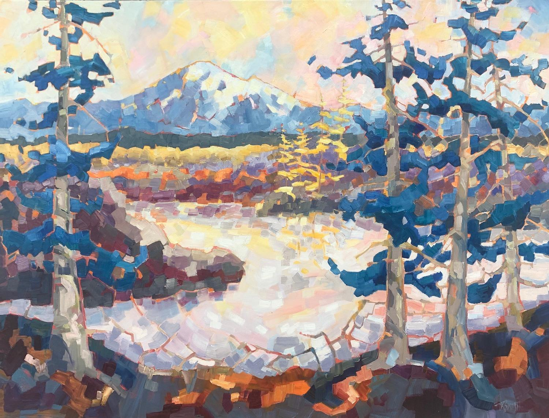 Mt Baker II, Oil Painting