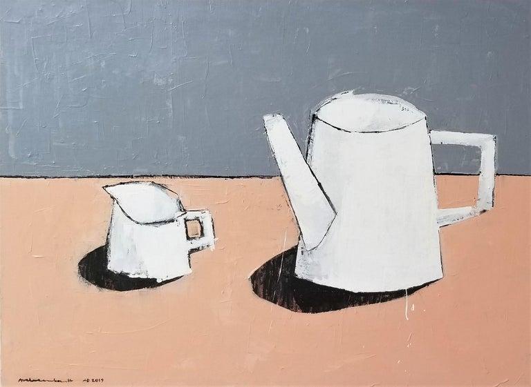painting one of a kind STILL LIFE modern art LEMONS Original art Paulina Archambault artwork canvas painting