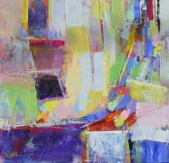 Cityscape 1, Abstract Painting