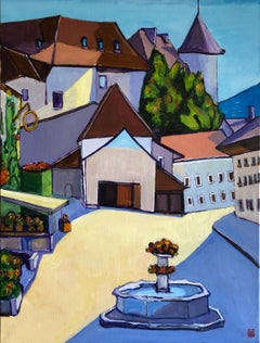 City of Prague , Original Painting