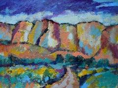 Canyon Road, Original Painting