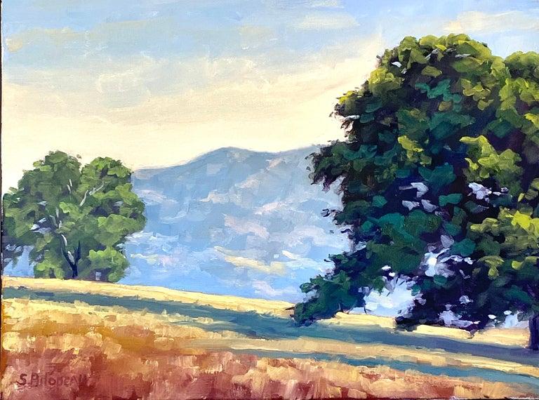 Steven Guy Bilodeau Landscape Painting - The Guardians, Oil Painting