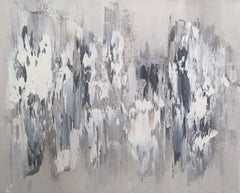 Memory Stones 4, Abstract Oil Painting