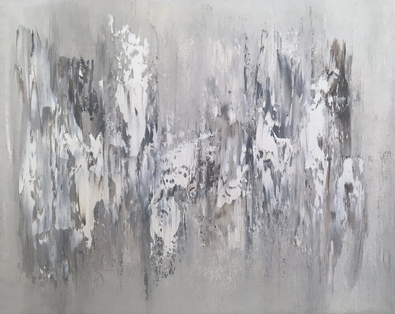 Morgan Fite Abstract Painting - Memory Stones 5, Abstract Oil Painting