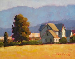 Farm House, Oil Painting
