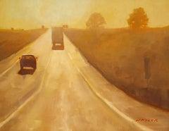 Road Trip, Oil Painting