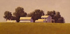 Iowa Farm, Oil Painting