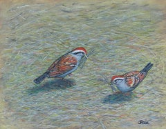We'll Build a Nest Together, Original Painting