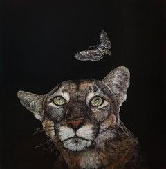 Florida Panther, Oil Painting