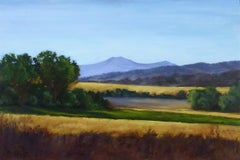 Vista No. 1 Val D'Orcia, Oil Painting