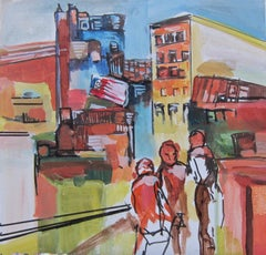 Hope for New York Part l, Original Painting