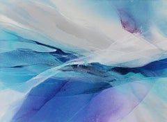 Blue Mist, Abstract Painting
