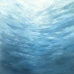 Gently Ascending, Abstract Oil Painting