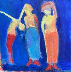 Three Part Harmony, Original Painting
