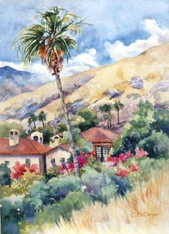 Palm Springs Palm, Original Painting