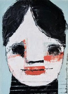 Dolly, Girl Portrait, Original Painting