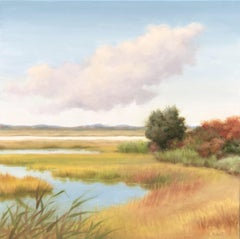 Tide Rises, Oil Painting
