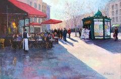 Memories of Paris, Oil Painting
