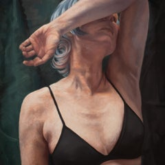 Shielded, Oil Painting