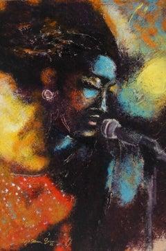 Soul Singer, Original Painting
