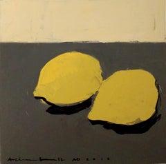 Lemons IV - Still Life, Original Painting