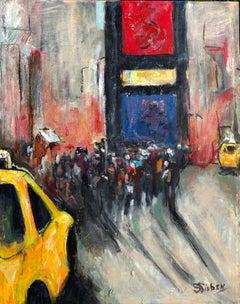 Times Square II, Original Painting