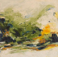A Cool Summer Day, Abstract Oil Painting