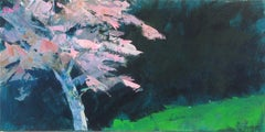 Pink and Green, Original Painting