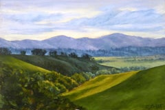 Vista No. 2 Val D'Orcia, Oil Painting