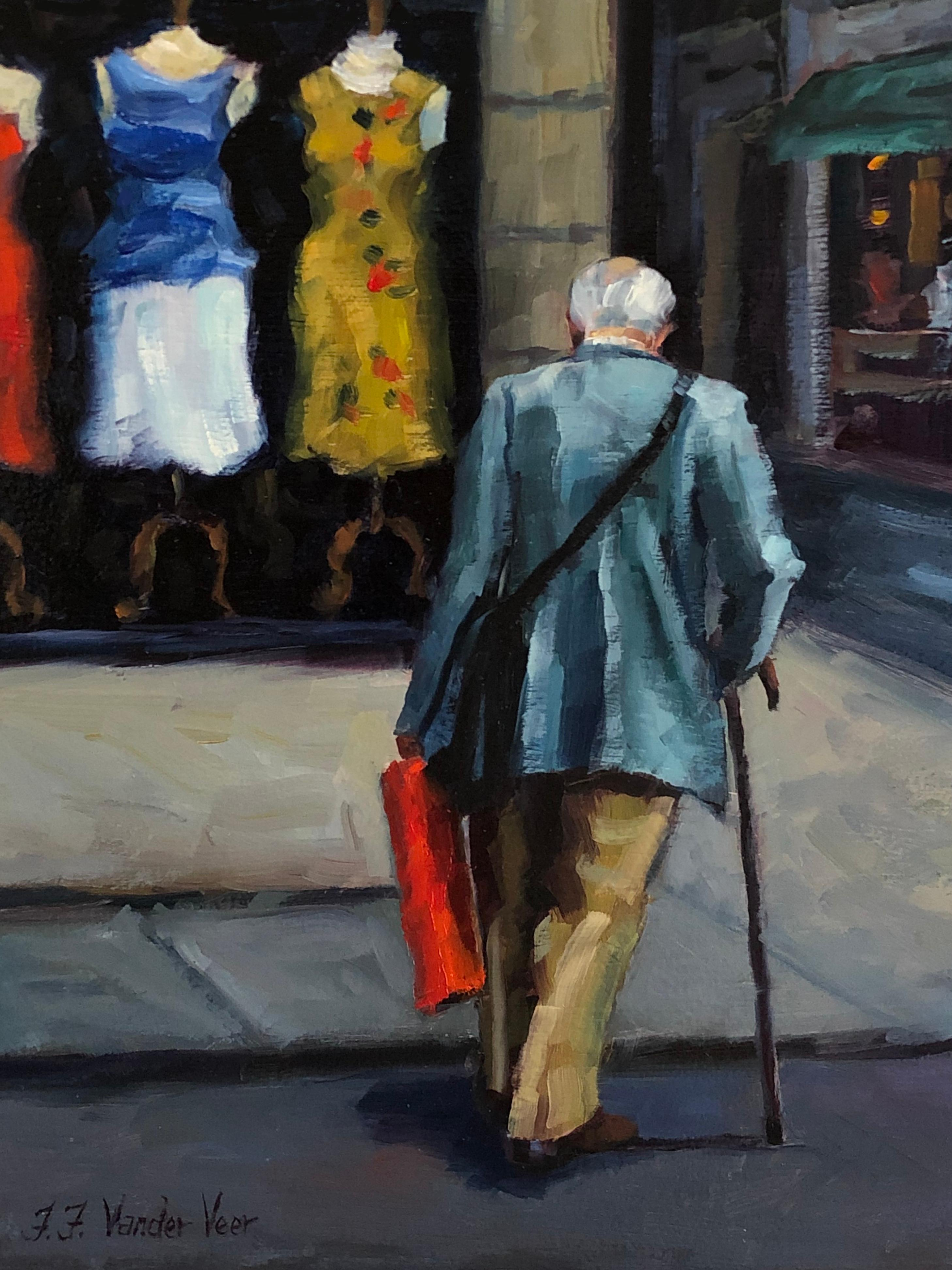 The Wrong Size, Oil Painting