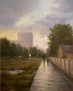 After Rain, Oil Painting