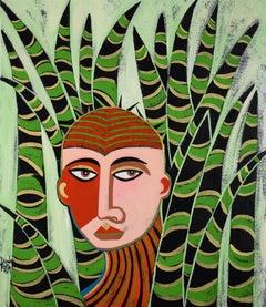 Jungle Man, Original Painting