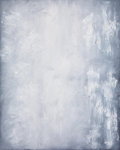 White as Snow, Abstract Oil Painting
