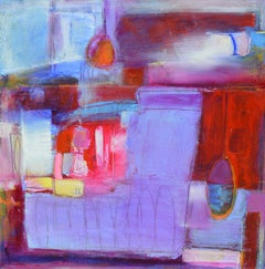 The Red City, Abstract Painting