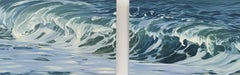 Plunging Wave, Oil Painting
